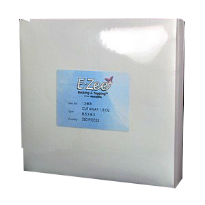 "8"" x 8""  1.5oz Ezee Cutaway Backing  250 pc pk"