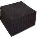 "BLACK- 1.5oz Tearaway/Washaway - H&V - 8"" x 8"" - 500 pcs per pk"