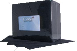 "BLACK - 1.5oz Tearaway Ezee Backing - 8"" x 8"", 250 pc pk"