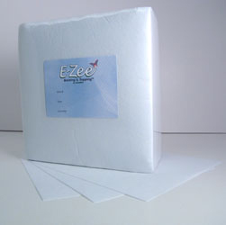 "1.8 oz Tearaway Backing Plus  8"" x 8"", 250 pc pk"