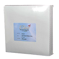 "8"" x 8"",  2.0 oz  Ezee Cutaway Backing Hefty  250 pc pk"