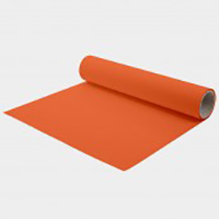 "Quickflex Orange Heat Applied Vinyl 15""x5yd"