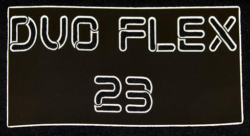 "DuoFlex Heat Applied Vinyl 20""x10yd roll White/Black outline"
