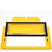 """7.5""""X3""""  Window Frame for the ICTCS 2 Clamp Base from EMS Hoop Tech - Name Frame"""