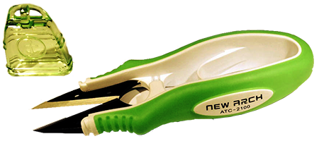Snips - Soft Cushion handle with anti-slip grip pad - comes in pink, green or orange - (No choice in color) - Year End