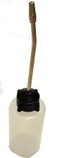 Bottle with Long Spout, 4 oz - Empty no oil