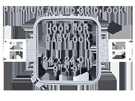 "Allied Grid Lock hoop for PR series 9""x9"" fits 7x8 design"