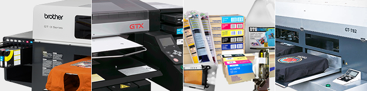 Brother DTG printers & supplies