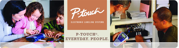 P-Touch®. Everyday. People.