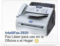 IntelliFax-2820 Small Office/Home Office Laser Fax