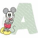 New Mickey & Minnie Alphabet
