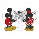 New Disney Mickey & Minnie in Love