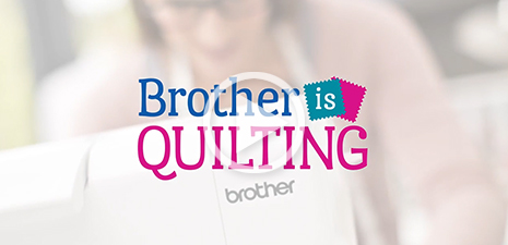 Brother is Quilting