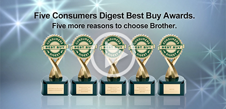 5 Consumers Digest Best Buy Awards!