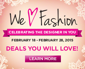 We Love Fashion February Promotion