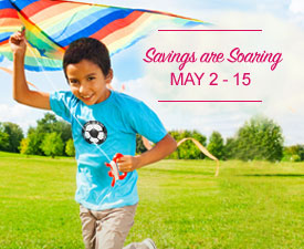 Savings Are Soaring - May 2nd - 15th