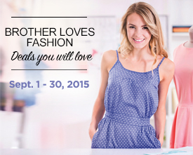 Brother Loves Fashion September Promo