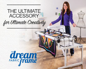 The Ultimate Accessory - THE Dream Fabric Frame