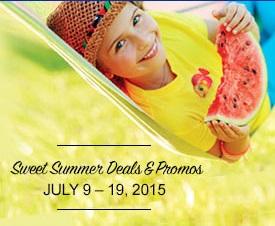 Sweet Summer Deals!