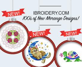 100's of New Morango Designs on iBroidery.com!
