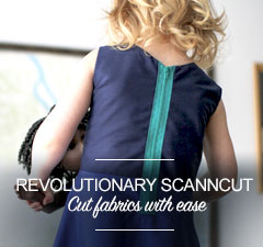 ScanNCut Cuts Fabric with Ease