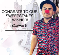 Congrats to our SewYourDreams Sweepstakes Winner Gustavo V.