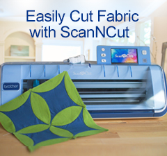 Easily Cut Fabric with ScanNCut!