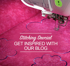 Visit Stitching Sewcial the Brother Sews Blog