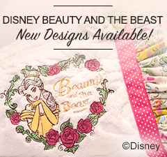 Beauty and the Beast Design Available on iBroidery.com