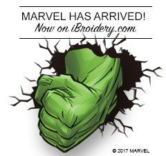 Superpower Your Creativity with Marvel Embroidery Designs