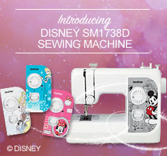 SM1738D Disney Sewing Machine