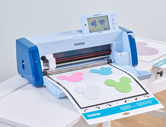 ScanNCut DX SDX330D with Disney Mickey Mouse cutouts