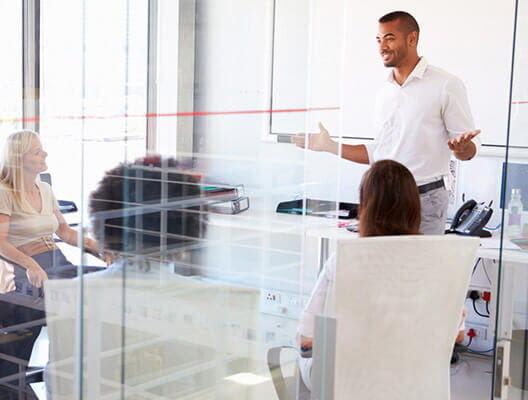 Meeting Held in Office