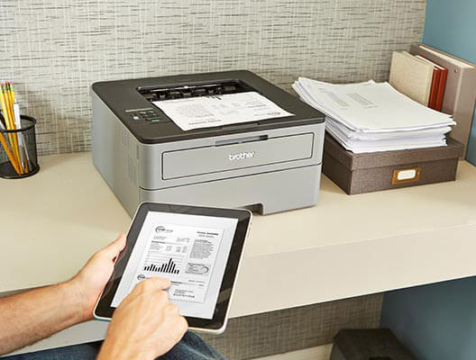 Wireless Printing with Tablet
