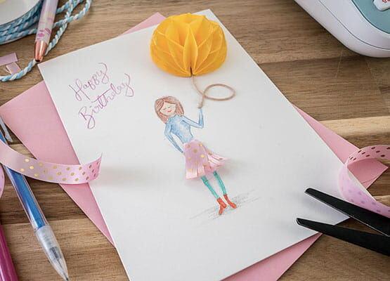birthday card craft
