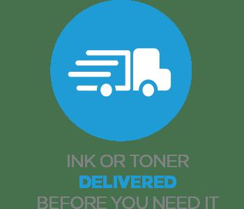 Ink and toner delivered
