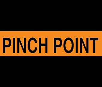 Pinch point label