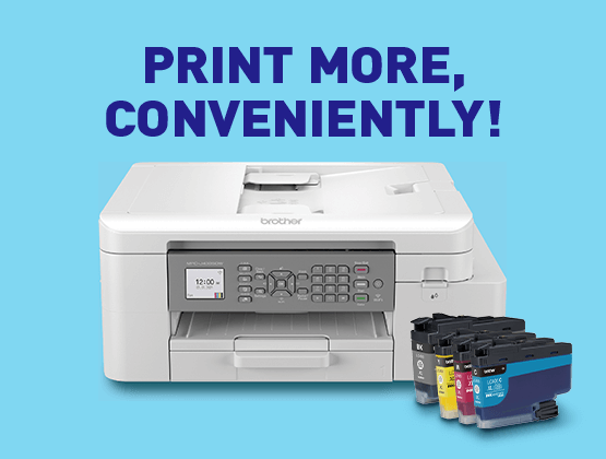 Print with convenience