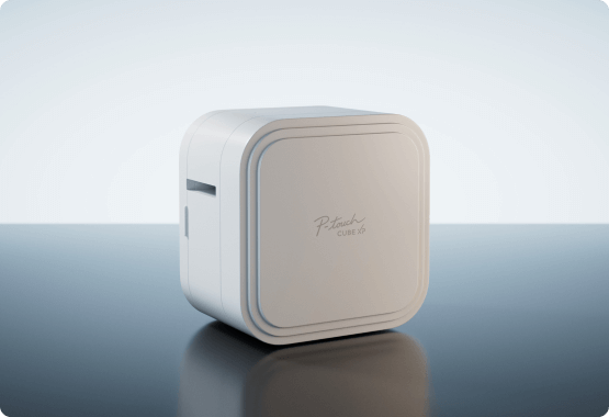 P-touch Cube XP angled