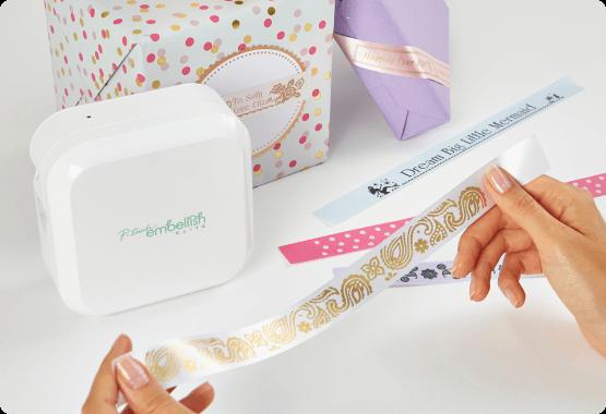 P-touch Embellish Elite ribbons