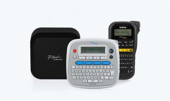 Assorted P-touch products