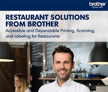 restaurant solutions from Brother