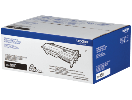 Brother TN880 toner packaging
