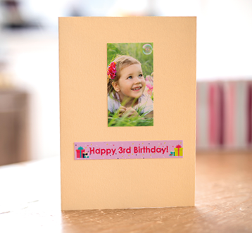3rd birthday card image
